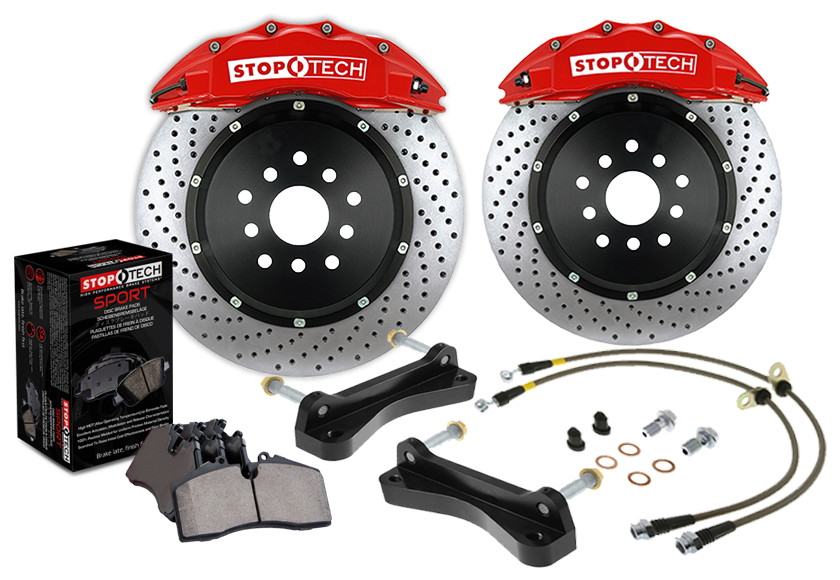 Stoptech Big Brake Kit FRONT for BMW E60 535i/545i/550i